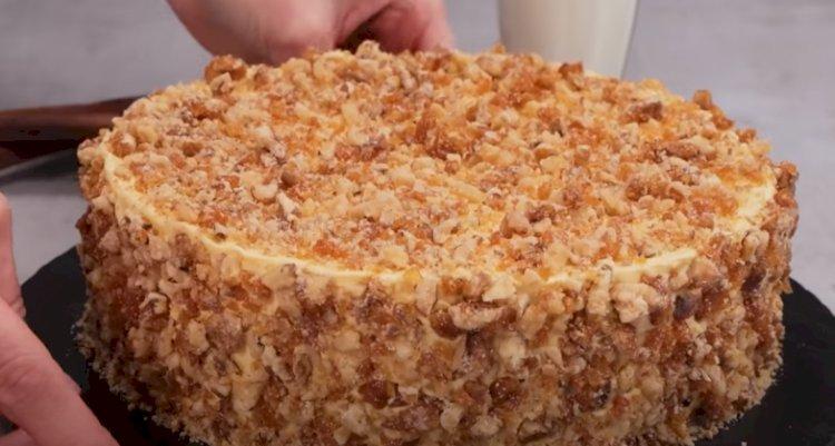 Домашна орехова торта