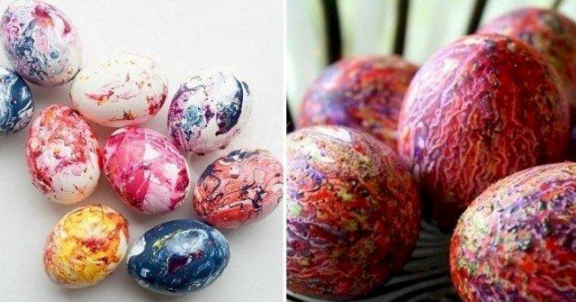 Цветовете стават по-ярки, отколкото може да си представите: ето как се правят невероятните яйца-дъга (Снимки)