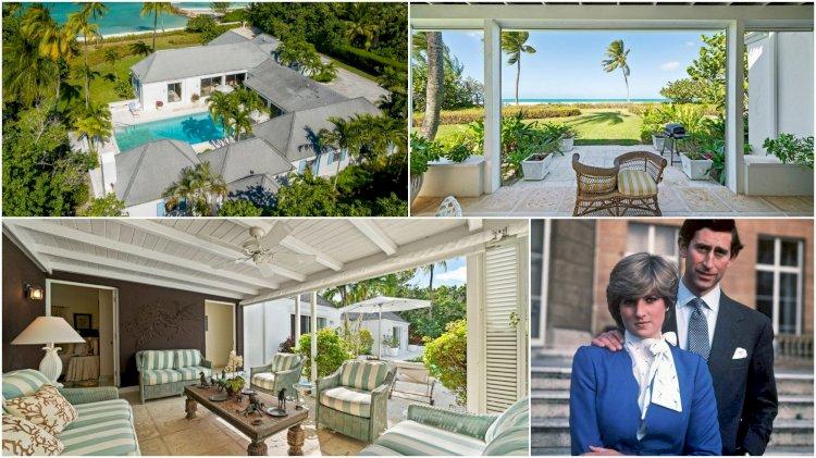 Лятната вила на принцеса Даяна на Бахамите отвътре (СНИМКИ)