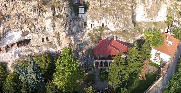 ВИЖТЕ УНИКАЛНО ВИДЕО, снимано с дрон, на Скален манастир Св. Димитър Басарбовски! ЩЕ ОСТАНЕТЕ БЕЗ ДУМИ! (ВИДЕО)