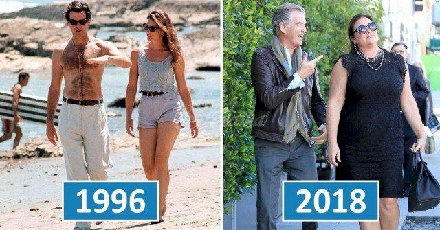 Джеймс Бонд все още е лудо влюбен жена си след 25 години брак (СНИМКИ)