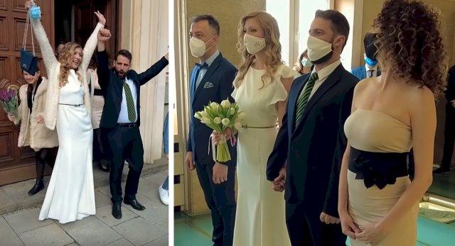 """Караджов от """"Бригада Нов дом"""" се ожени (ВИДЕО)"""