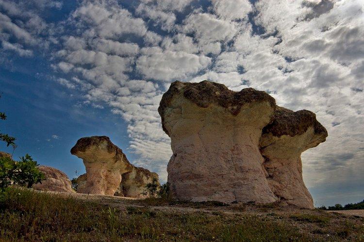 Девойки се превърнали в каменни гъби край село Бели пласт
