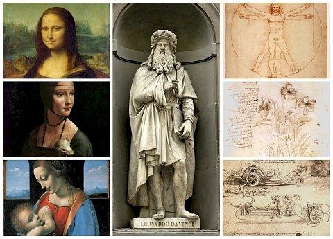 Леонардо да Винчи е роден на 15 април 1452 г. във Винчи, Флоренция