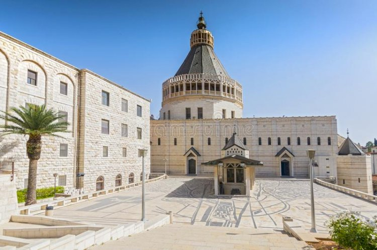 Базилика Благовещение в Назарет